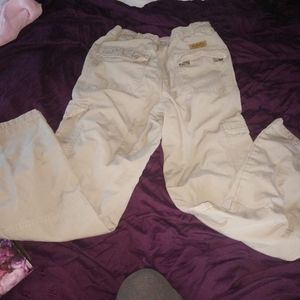 Men's Cabellas trail hiker flannel lined pants 32